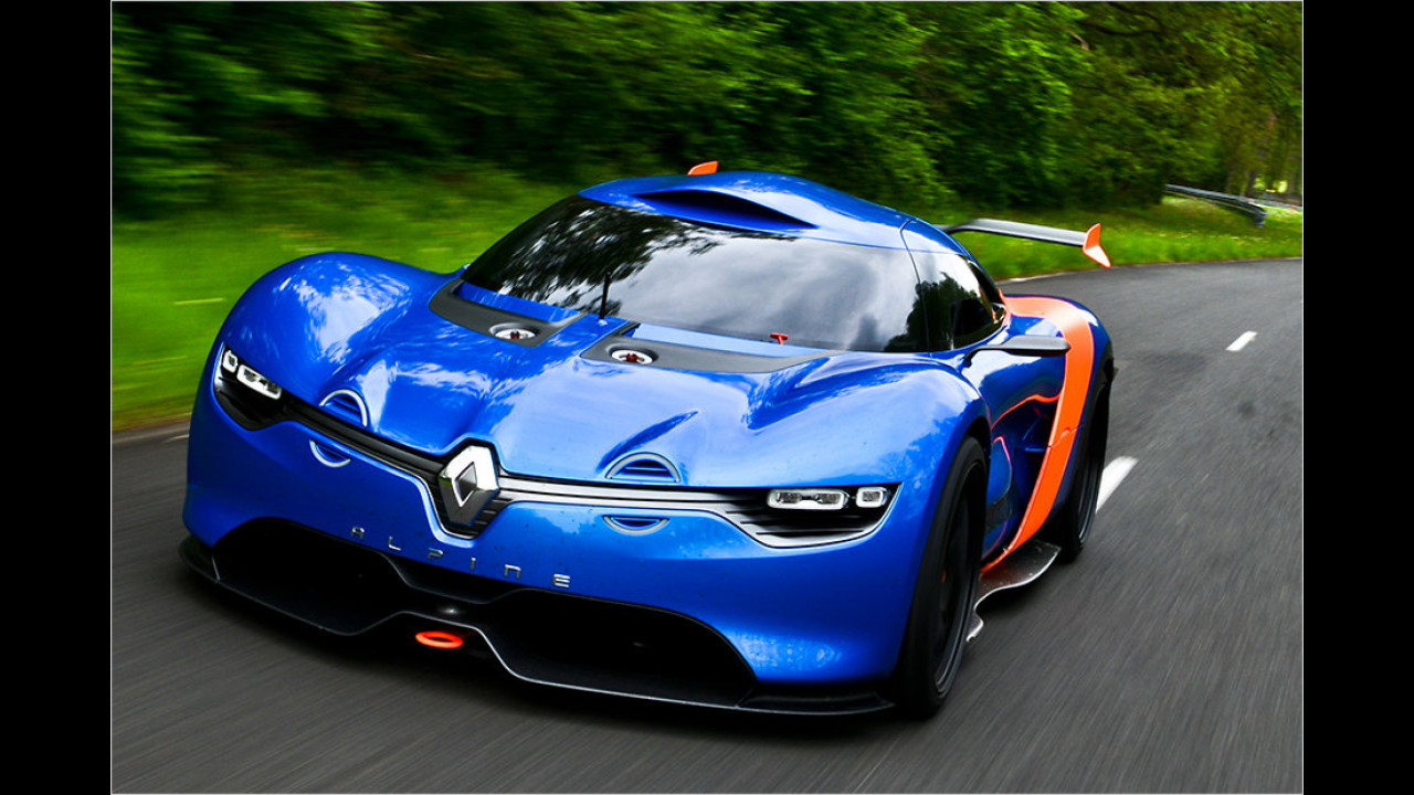 Happy Birthday, Alpine: Der A110-50