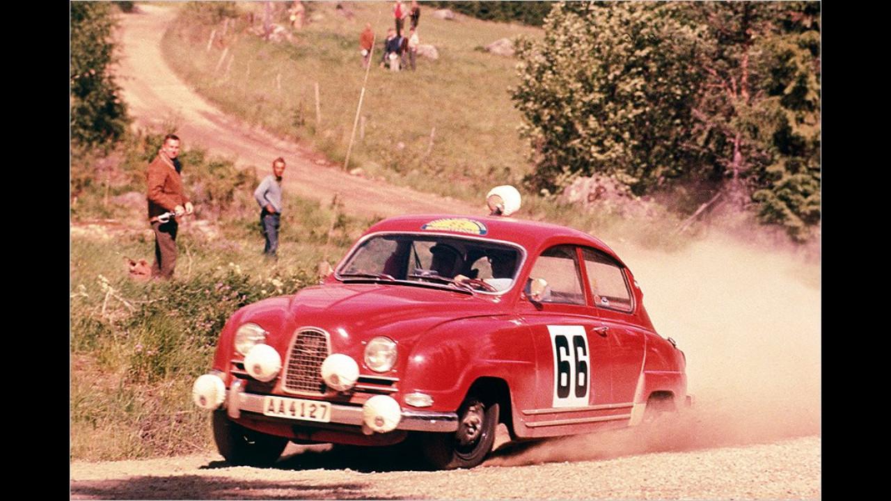 Bei Rallyes konnte der 96 zahlreiche Erfolge einheimsen