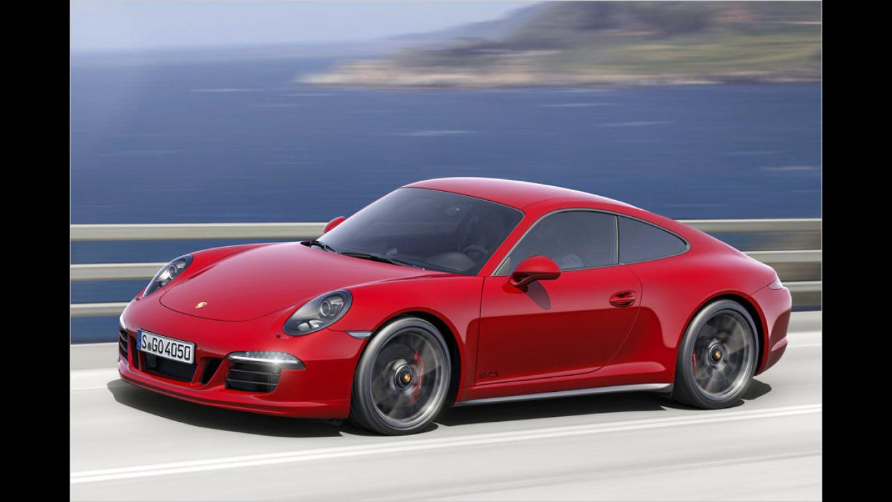 Sportwagen, Platz 2: Porsche 911 (4.515 Stück)