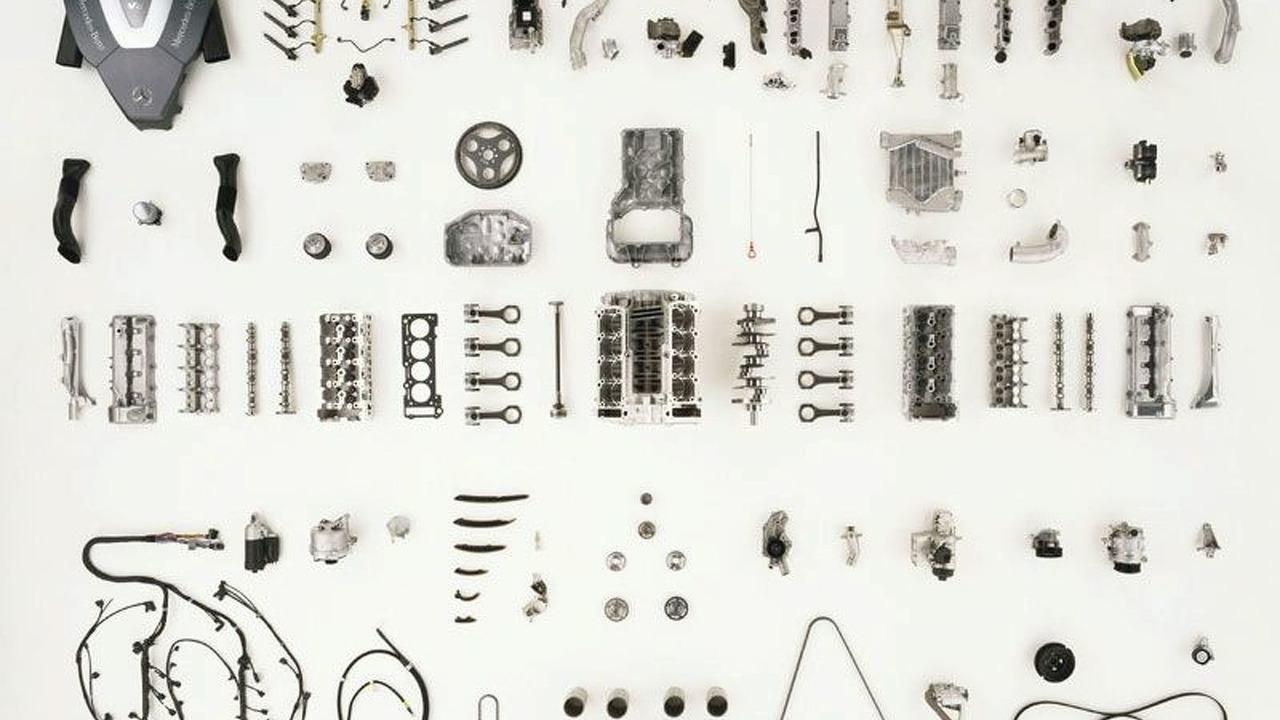 S 400 CDI bits & pieces