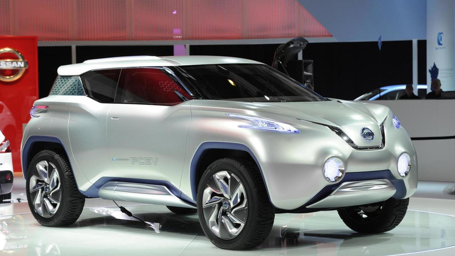 Nissan TeRRA concept presented in Paris