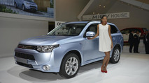Mitsubishi Outlander PHEV at 2012 Paris Motor Show