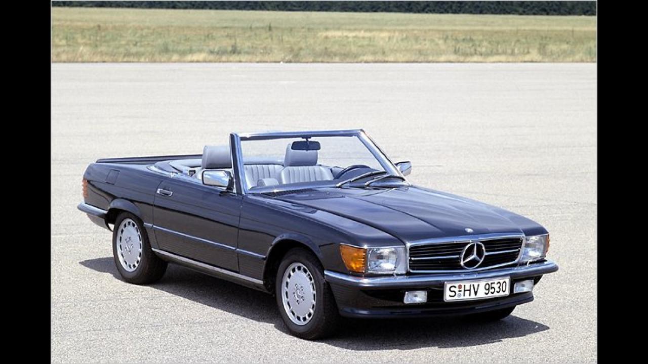 Platz 4: Mercedes SL (22,9 Prozent)