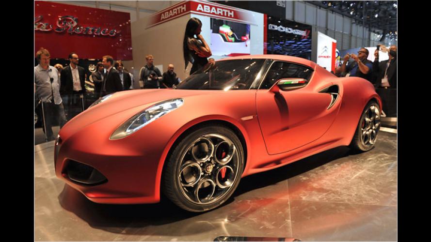 Westentaschen-Ferrari: Alfa Romeo 4C Concept