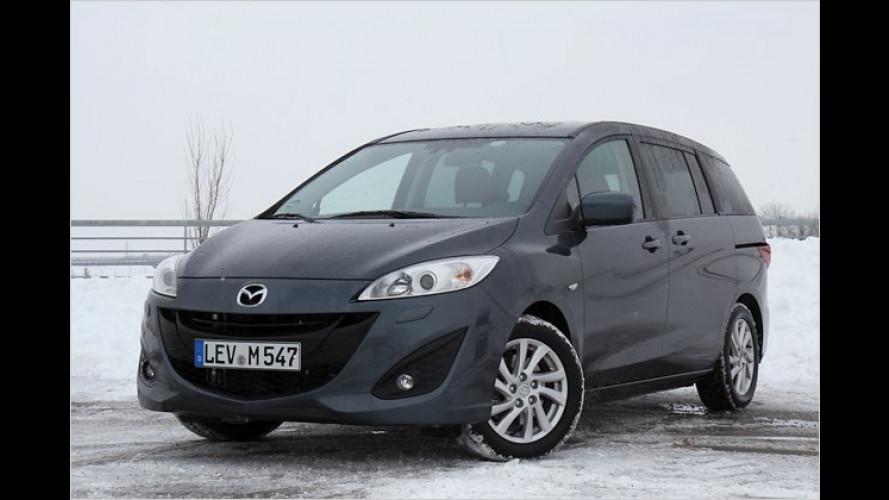Urbane Familie: Mazda 5 1.8 im Test