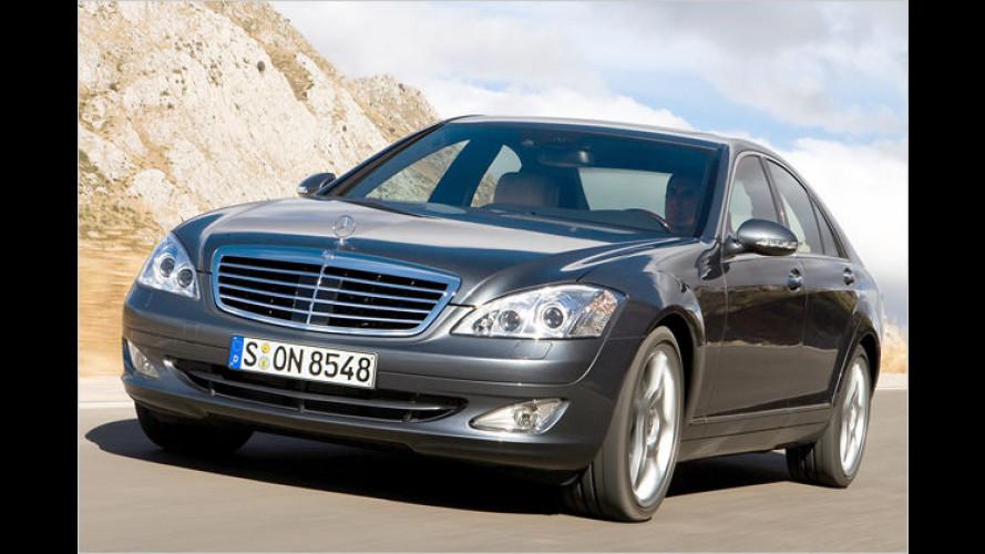 Mercedes: Sensoren sollen den Sekundenschlaf bekämpfen