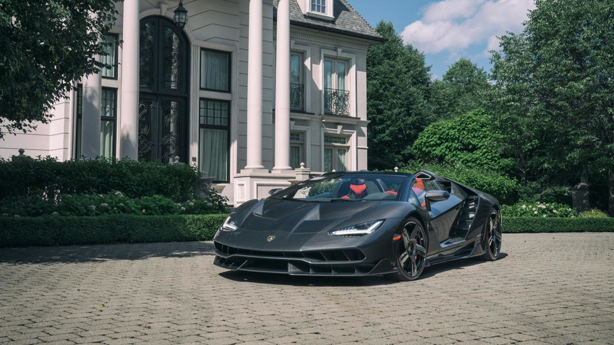 Centenario Roadster Delivered To Toronto Customer Only 1 Of 20