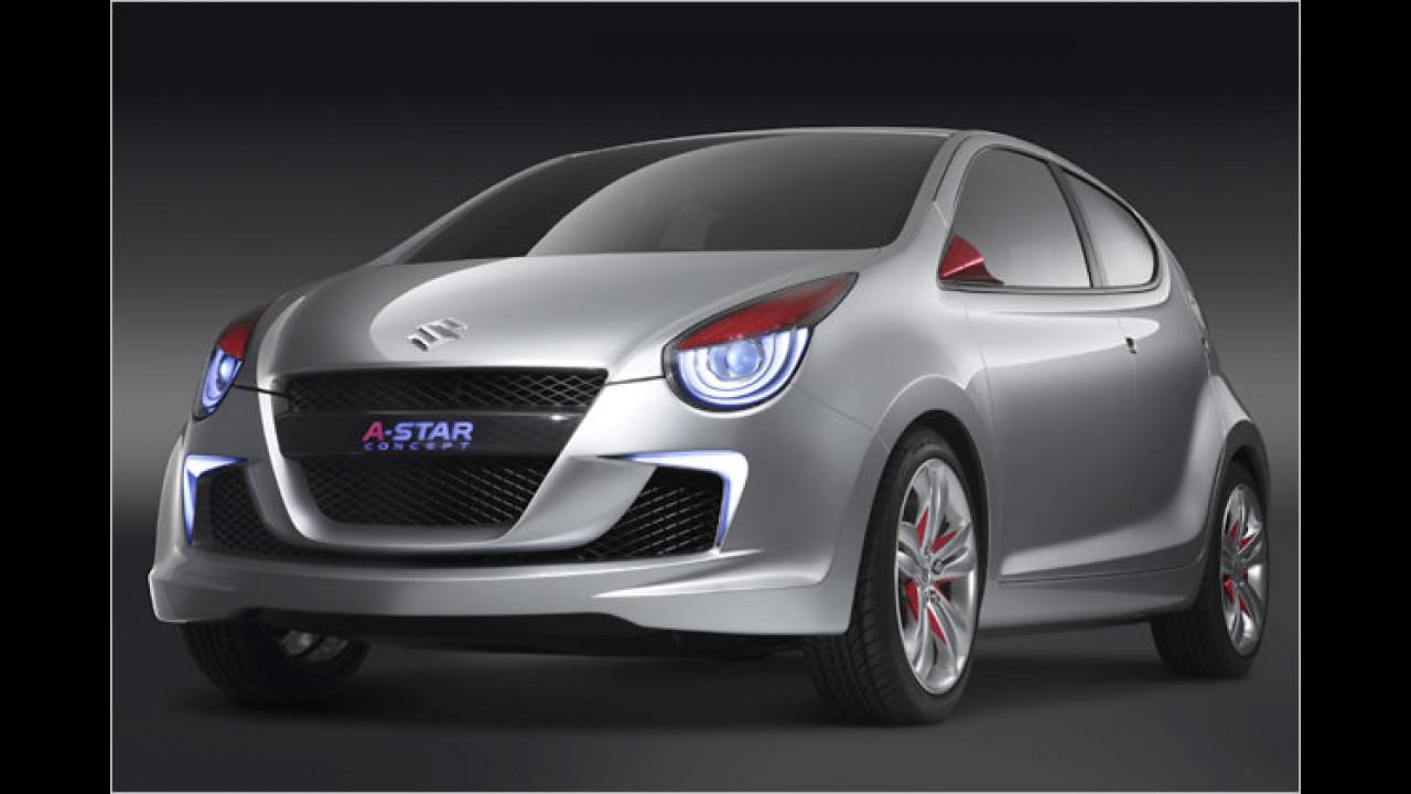 Aus dem Suzuki Concept A-Star ...