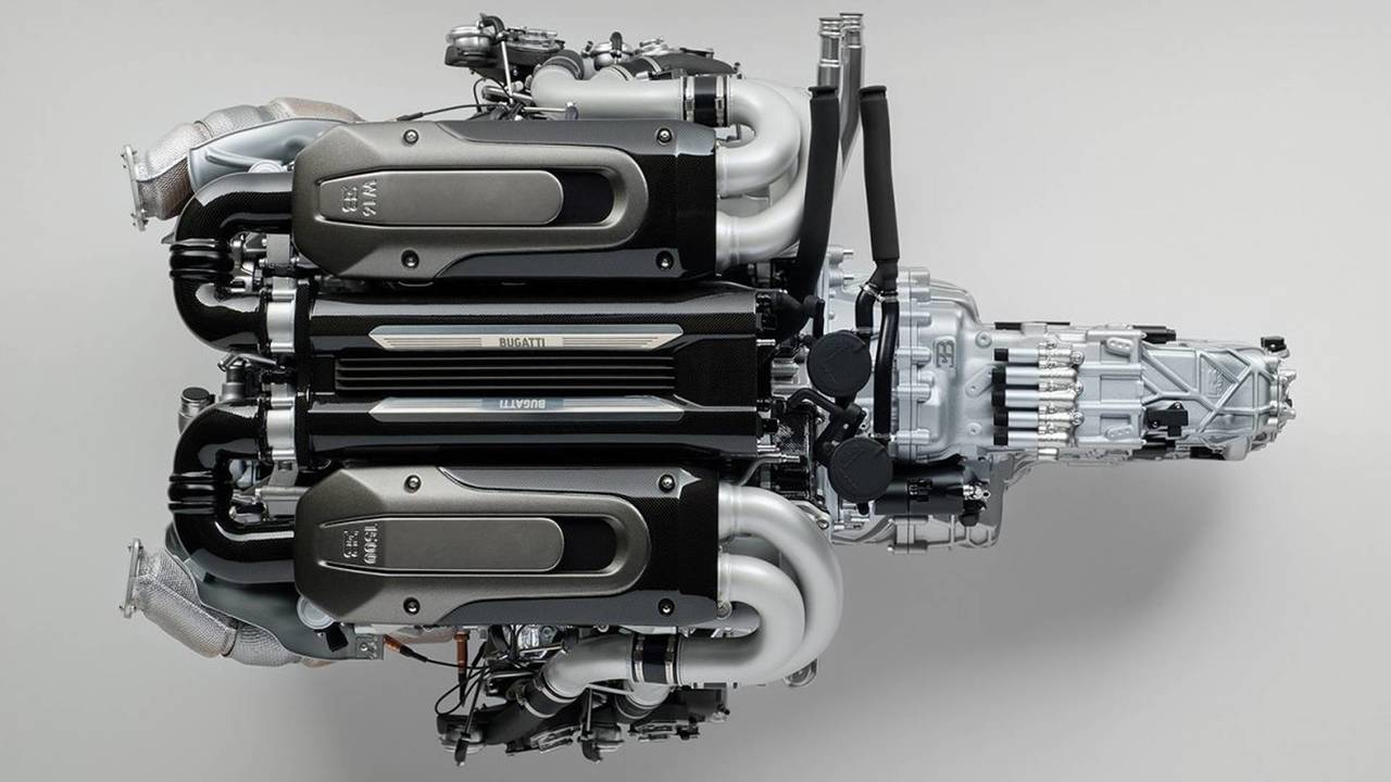 Amalgam Collection Bugatti Chiron Engine
