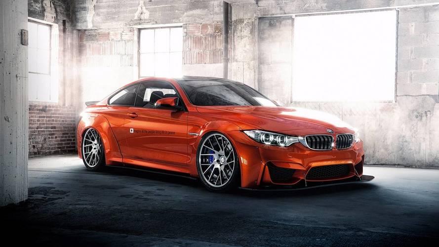 PHOTOS - La BMW M4 passe entre les mains de Liberty Walk