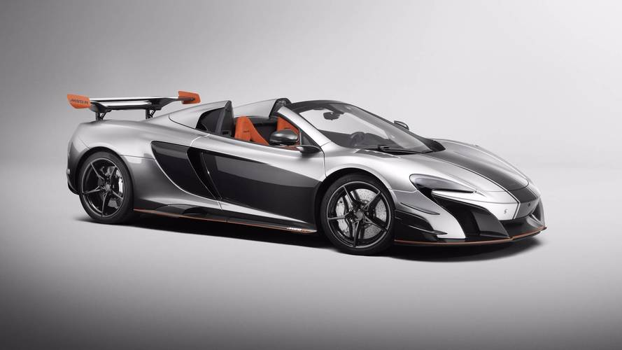This McLaren MSO R is a two-off supercar special