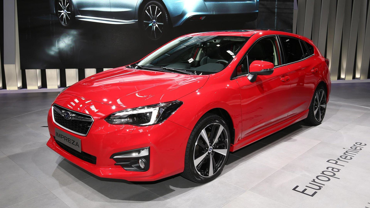 Euro Spec 2018 Subaru Impreza Revealed In Frankfurt
