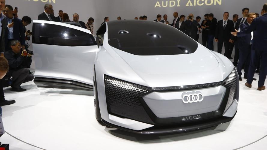 Audi Aicon – Quand électrique et autonome sont synonymes
