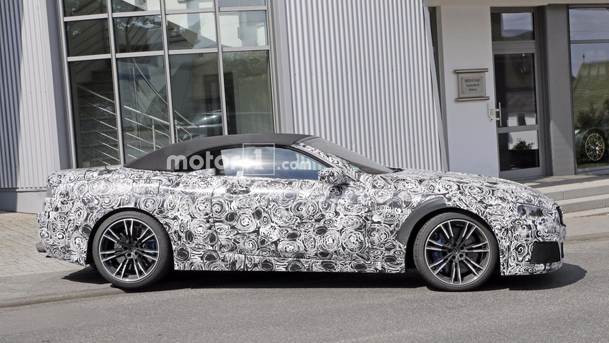 BMW Takes M8 Convertible Prototype Out For A Spin