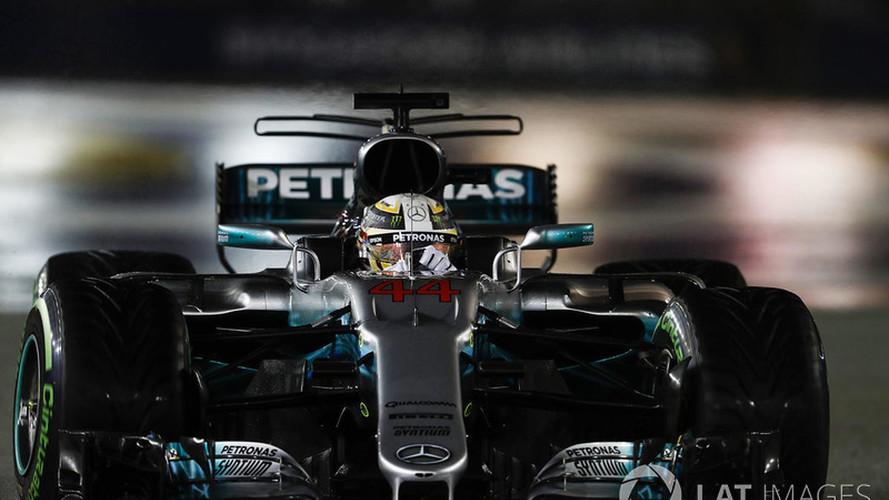 Victoria de mundial de Hamilton tras el desastre de Vettel
