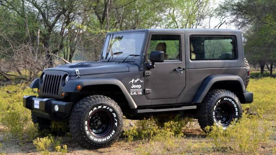 Don't Believe Your Eyes, This Is Not A Jeep Wrangler