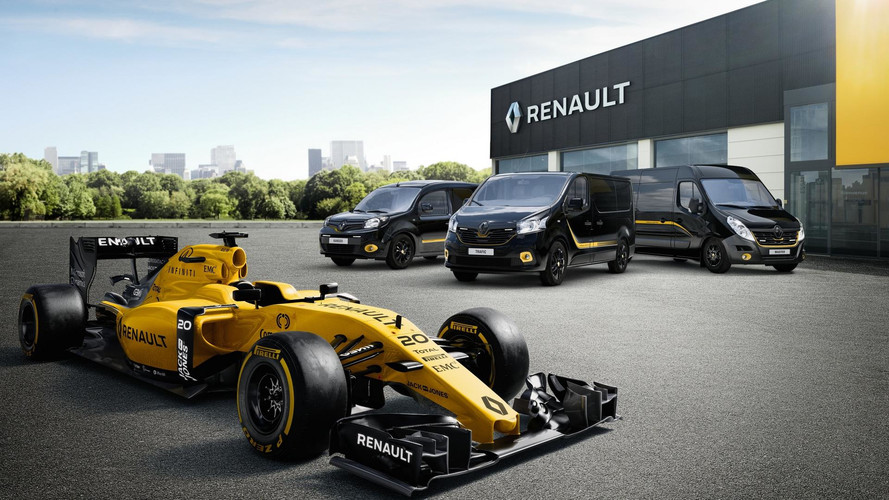 You Can Buy An F1-Inspired Renault Van Because, Why Not?