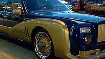 Rolls-Royce Phantom replica based on Lincoln Town Car
