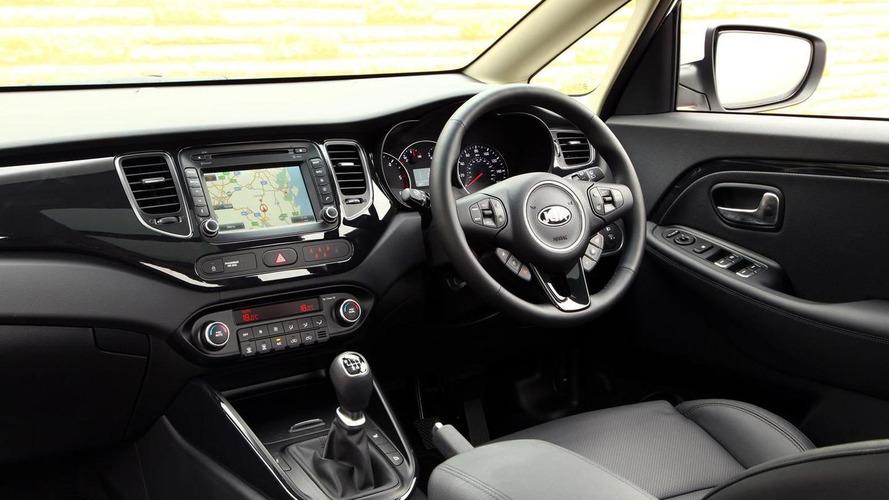 Kia Carens gains new range-topping 3 Sat Nav version in UK