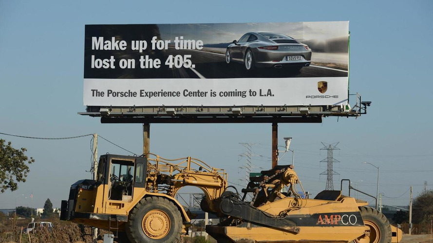 Porsche previews their Los Angeles Experience Center