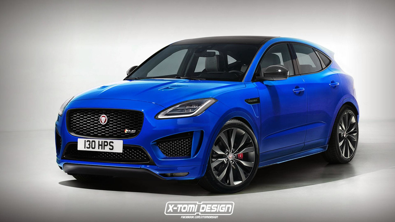Jaguar E-Pace RS Rendering