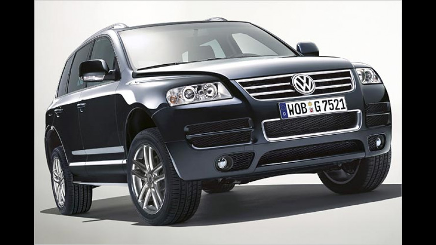 Streng limitiert: Edel-Auflage VW Touareg Exclusive Edition