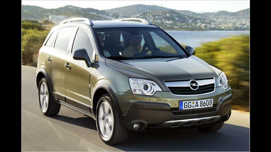 Opel Antara mit Frontantrieb: Günstiger als die Allradversion
