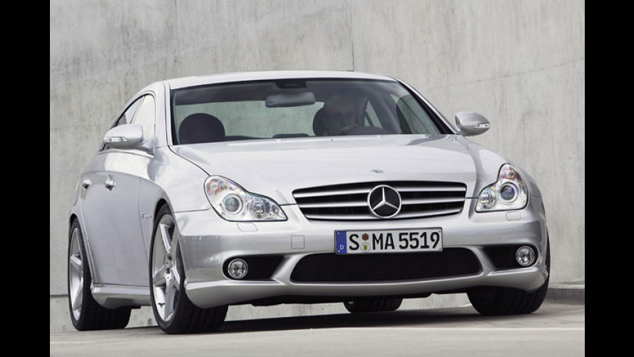 Mercedes CLS 55 AMG: Coupé bald auch als Top-Sportler