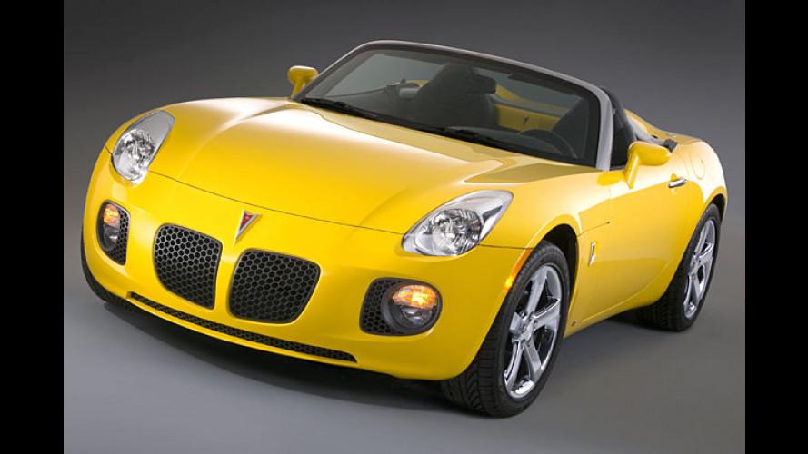 Pontiac Solstice GXP: Mit neuem Rekord-Antrieb von GM