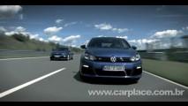 VÍDEO: Volkswagen Golf R e Scirocco R