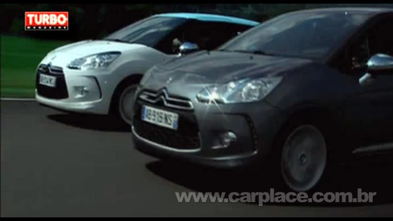 VÍDEO mostra o Novo Citroën DS3 em movimento e detalhes internos