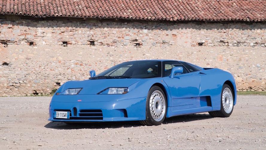 Une Bugatti EB110 GT mise aux enchères par RM Sotheby's