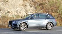 2017 Bentley Bentayga dizel casus fotoğrafları