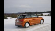 Audi A1 quattro. Il prototipo in prova