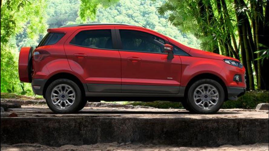 La nuova Ford EcoSport arriverà anche in Europa