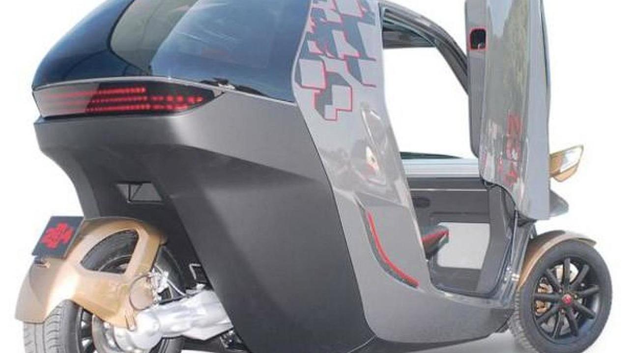 KTM E3W EV concept - 11.8.2011