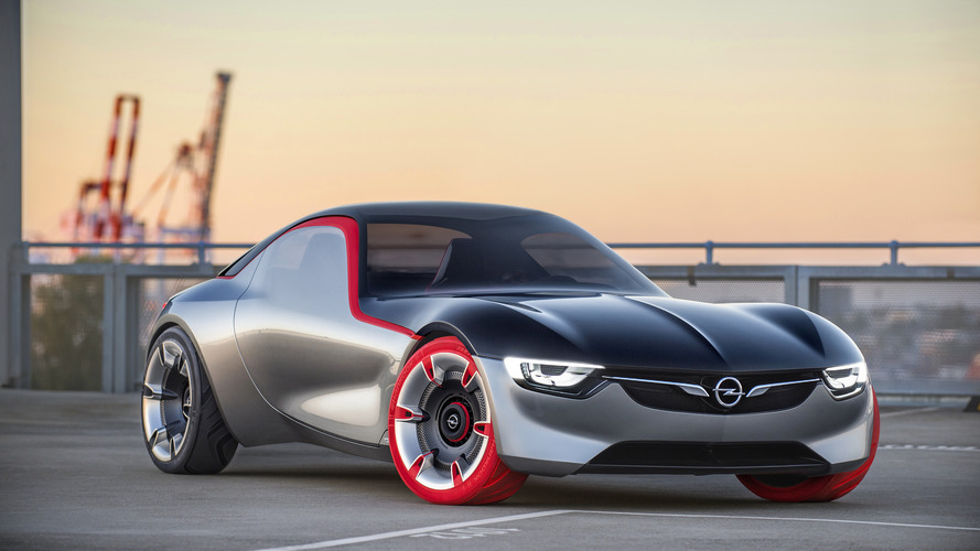 Opel GT Concept is 145-hp mid-engine, RWD baby sports car