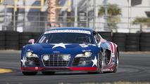 Audi R8 GRAND-AM testing at Daytona