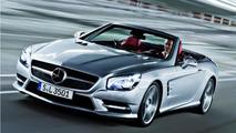 2013 Mercedes-Benz SL-Class official images surface