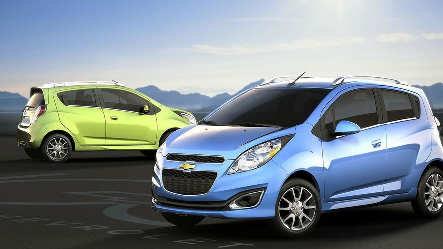 2013 Chevrolet Spark revealed for North America