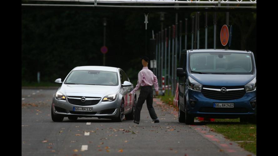 Le auto che evitano gli incidenti in città