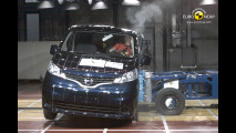 Crash Test Nissan Evalia