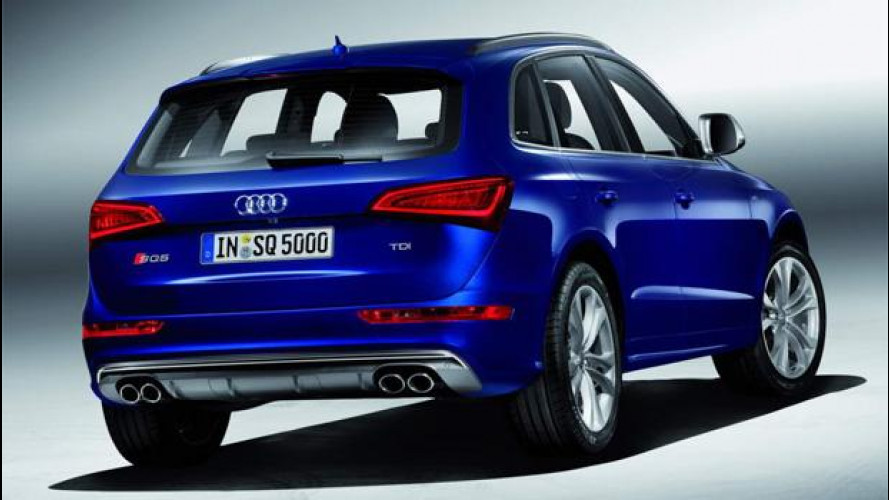 Audi SQ5 TDI, prezzi da 62.850 euro
