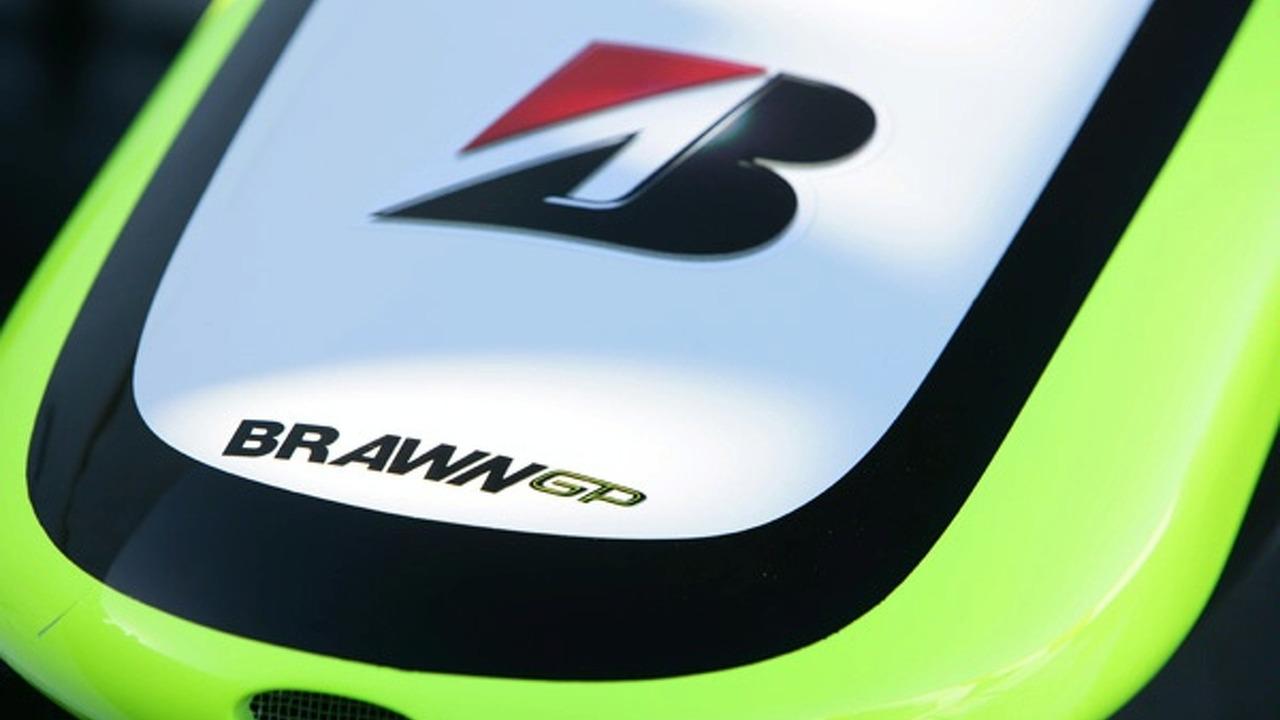 Brawn GP F1 car
