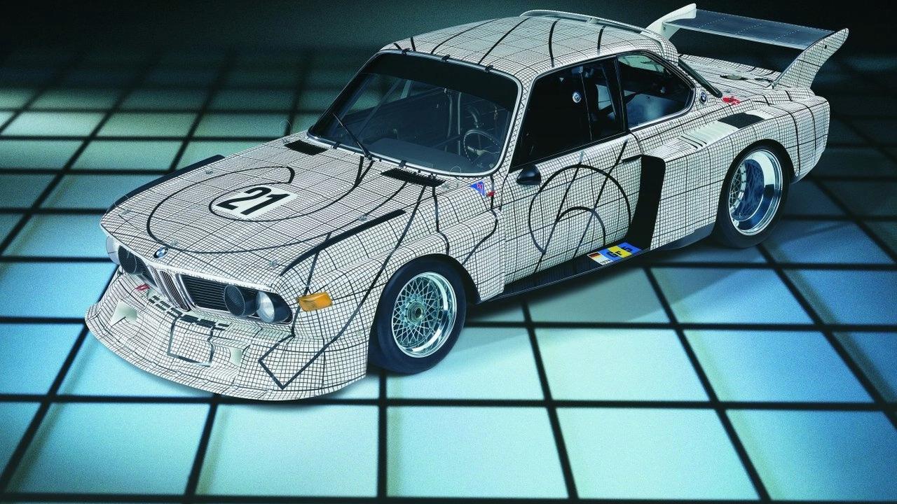 Frank Stella, Art Car, 1976 - BMW 3.0 CSL