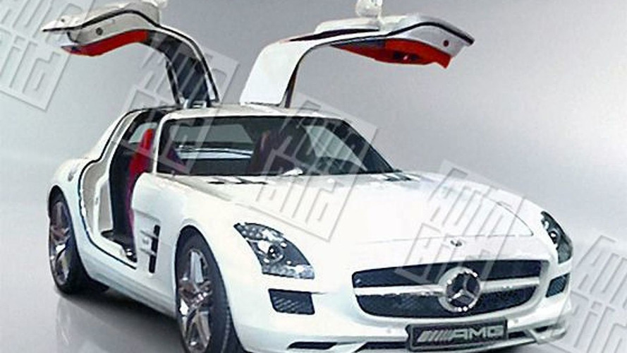 Autobild unleashes more Mercedes SLS AMG Gullwing images