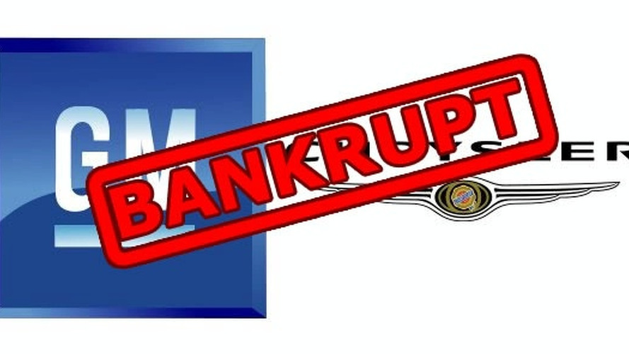GM and Chrysler considering bankruptcy as a last resort