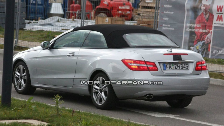 Mercedes E-Class Cabrio Shows its Rear