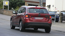 Red BMW X1 Prototype Virtually Undisguised
