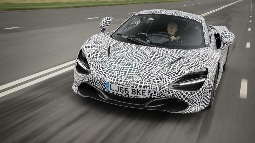 McLaren BP23 prototipinin ilk fotoları geldi!